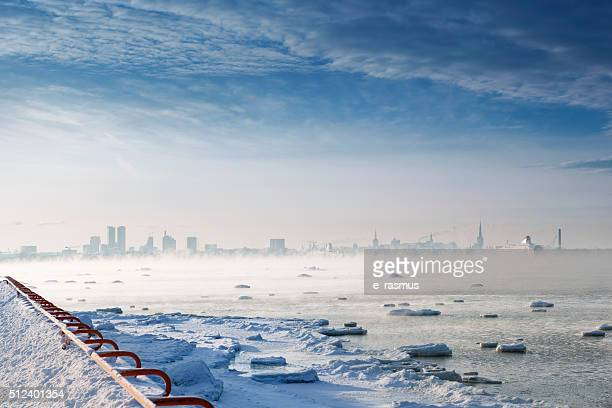 Winterscape in Tallinn
