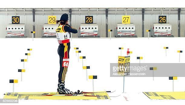 Wintersport / Biathlon WM 2004 Oberhof Einzel / Frauen Simone DENKINGER / GER 100204
