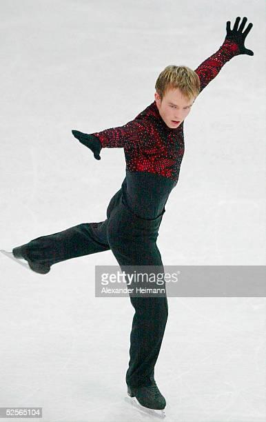 Wintersport / Eiskunstlauf Deutsche Meisterschaft 2005 Oberstdorf Herren Kuer Stefan LINDEMANN 1Platz 090105
