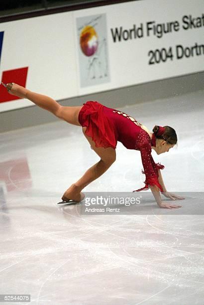Wintersport / Eiskunstlauf DM 2004 Berlin Damen Kurzprogramm Stefanie DANKERT 020104