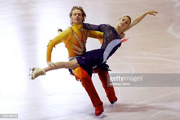 Wintersport / Eiskunstlauf DM 2004 Berlin Eistanz Kuer Rene LOHSE Kati WINKLER 040104