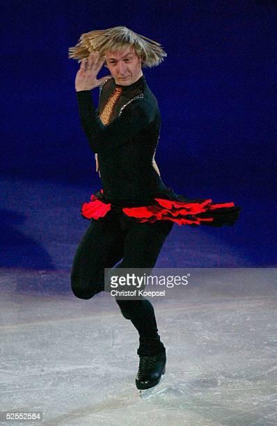 Wintersport / Eiskunstlauf WM 2004 Dortmund Schaulaufen Evgeni PLUSHENKO / RUS 280304
