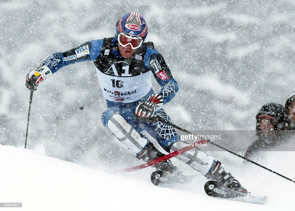 Wintersport/Ski Alpin: Weltcup 03/04, Slalom/Maenner : News Photo