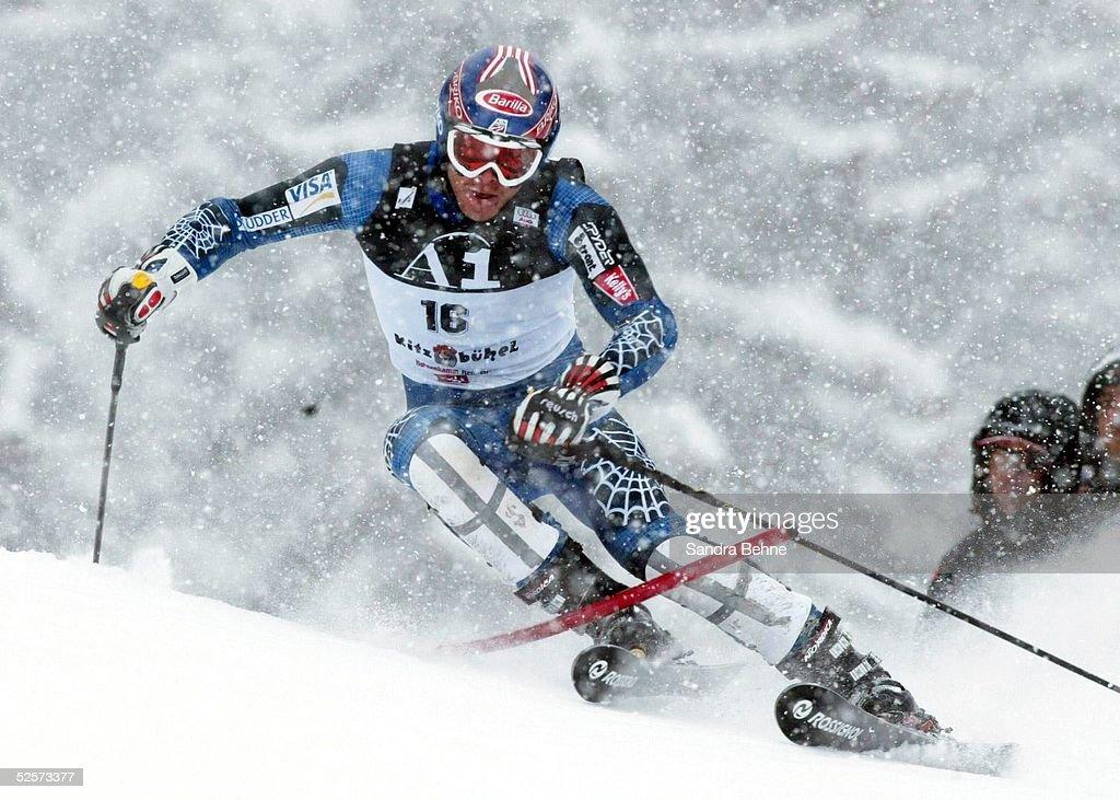Weltcup 03/04, Kitzbuehel; Slalom / Maenner; Bode MILLER / USA