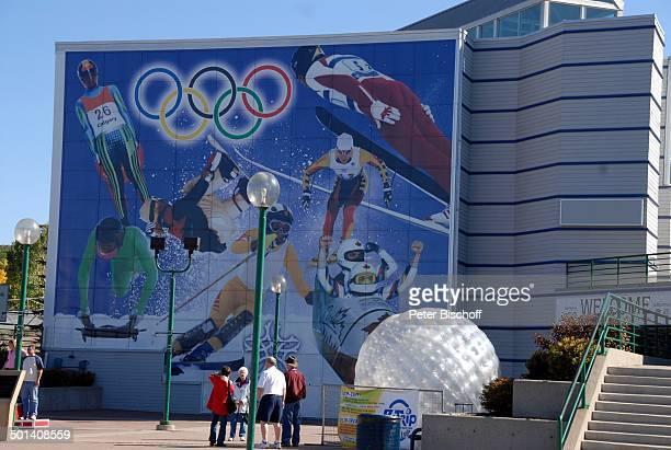 Wintersportanlage , Calgary, Alberta, Kanada, Nordamerika, Wintersport-Anlage, Reise, BB, DIG; P.-Nr. 1379/2007, ;