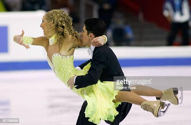 Wintersport/Eiskunstlauf EM 2005 Turin 270105Eistanz OriginaltanzSinead und Kevin KERR/GBR