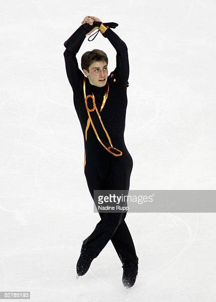 Wintersport/Eiskunstlauf EM 2005 Turin 270105Maenner Kuer2 PLatz Brian JOUBERT/FRA SILBER