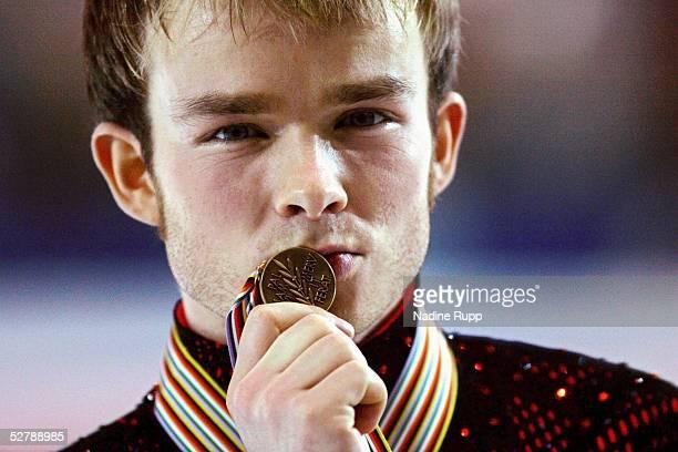 Wintersport/Eiskunstlauf EM 2005 Turin 270105Maenner Kuer3 Platz Stefan LINDEMANN/GER