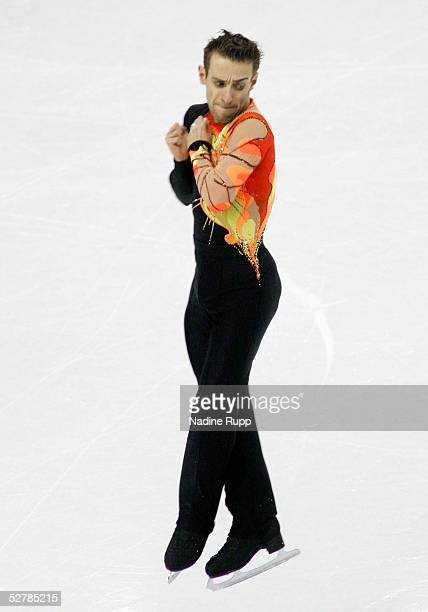 Wintersport/Eiskunstlauf EM 2005 Turin 270105Maenner KuerFrederic DAMBIER/FRA