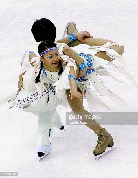 Wintersport/Eiskunstlauf EM 2005 Turin 280105Eistanz KuerChristina und William BEIER/GER