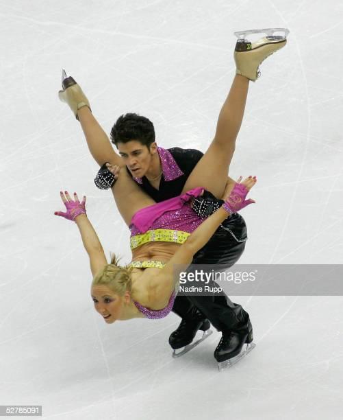 Wintersport/Eiskunstlauf EM 2005 Turin 280105Eistanz KuerSinead und John KERR/GBR