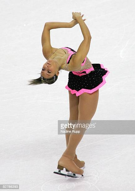 Wintersport/Eiskunstlauf EM 2005 Turin 280105Kurzprogramm FrauenDiana POTH/HUN