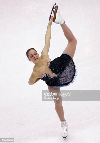 Wintersport/Eiskunstlauf : EM 2005, Turin, 28.01.05;Kurzprogramm Frauen;Sarah MEIER/SUI