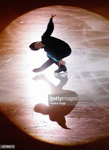 Wintersport/Eiskunstlauf EM 2005 Turin 300105SchaulaufenStephane LAMBIEL/SUI