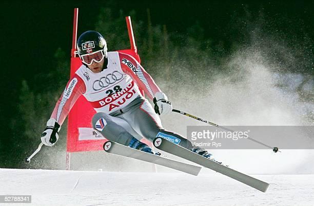 Wintersport/Ski Alpin WM 2005 Bormio 030205Abfahrt Kombination/MaennerKjetil Andre AAMODT/NOR 3 Platz nach der Abfahrt