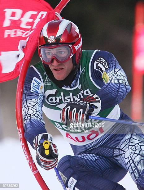 Wintersport/Ski Alpin WM 2005 Bormio 100205Riesenslalom/MaennerJames COCHRAN/USA