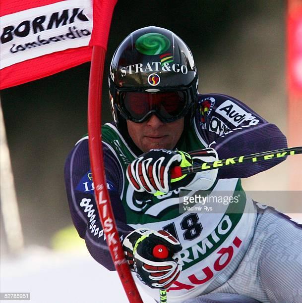 Wintersport/Ski Alpin WM 2005 Bormio 100205Riesenslalom/MaennerMarco BUECHEL/LIE