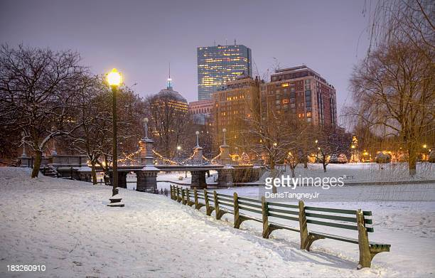 Wintertime in Boston