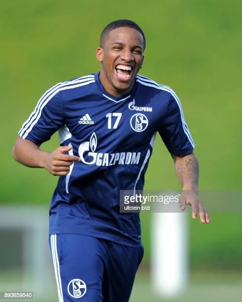 Wintertrainingslager des FC Schalke 04 Jefferson Farfan absolviert Straftraining