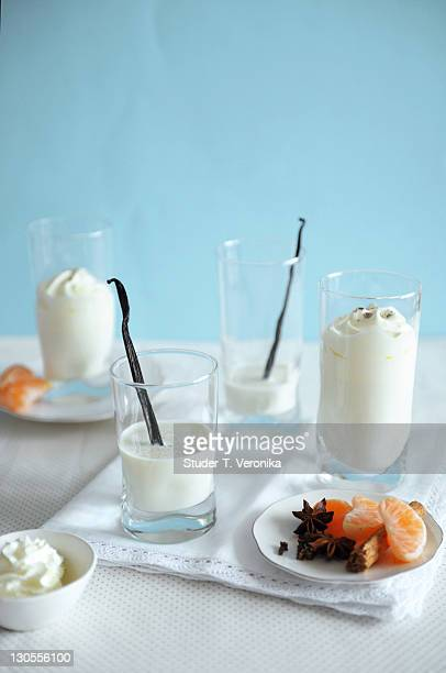 Wintery spiced milk