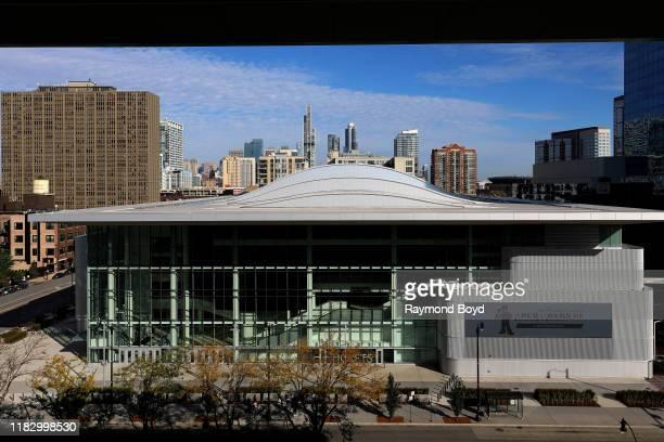 Wintrust Arena, home of the DePaul University Blue Demons men's and women's basketball teams and Chicago Sky of the Women's National Basketball...