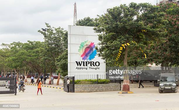 wipro office in bangalore, india - bangalore stock pictures, royalty-free photos & images