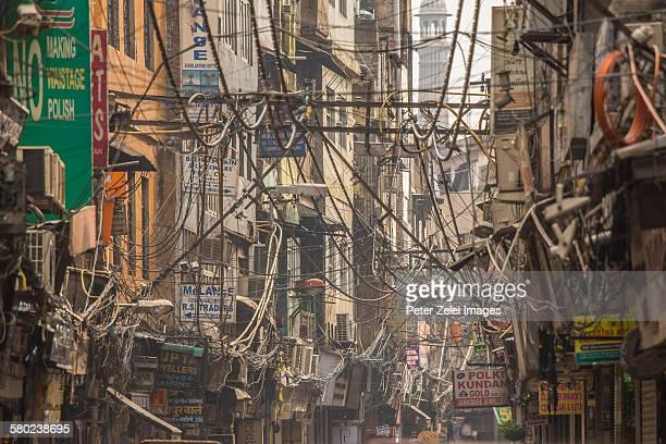 Wire chaos in New Delhi