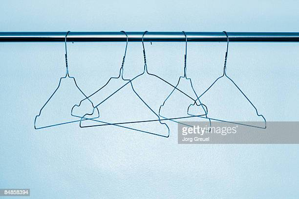 Wire clothes hangers