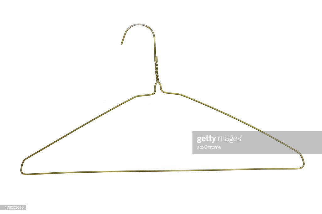 Wire Coat Hanger Stock Photo | Getty Images