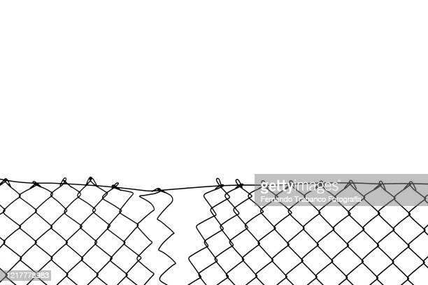 wire fence - arame imagens e fotografias de stock