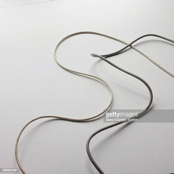 Wire On White Table