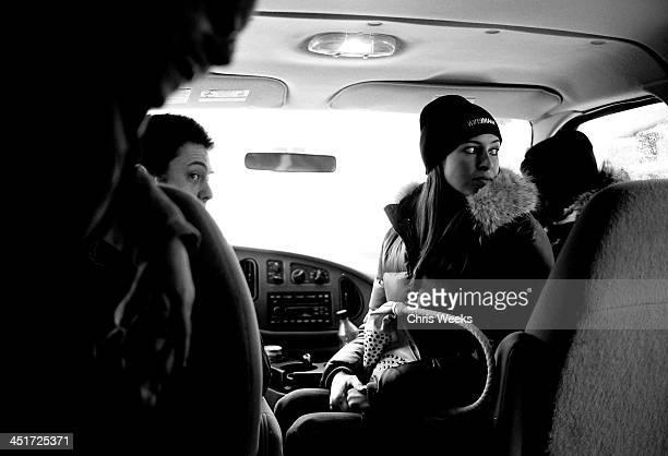 WireImagecom shuttle atmosphere during Sundance Film Festival 2006 Retrospective in Black White by Chris Weeks in Park City Utah United States