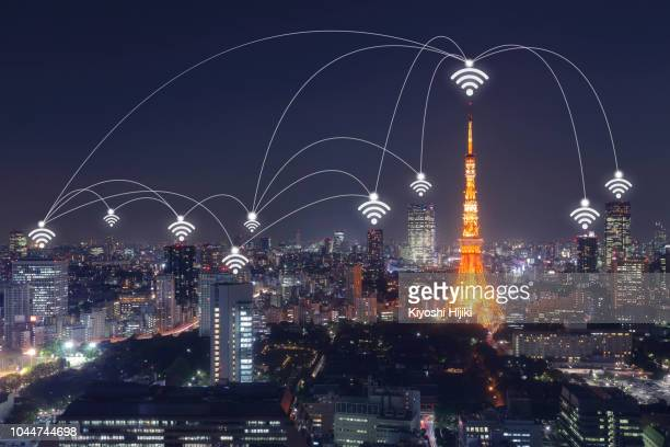 Wireless communication network in Big city