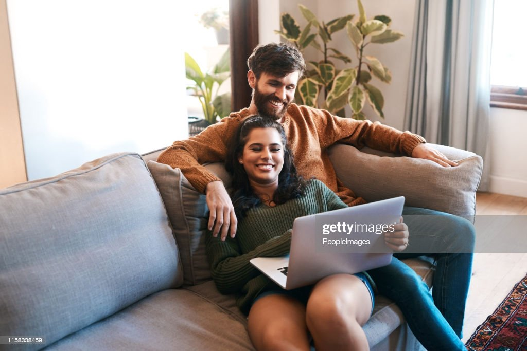 Wireless entertainment for a lazy day at home : Stock Photo