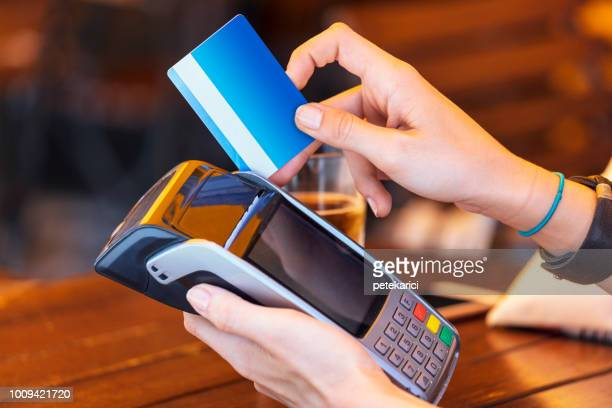 Wireless payment by card