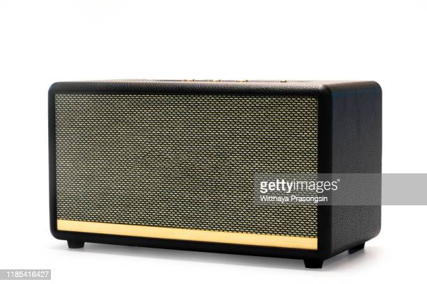 wireless speaker - amplifier stock pictures, royalty-free photos & images