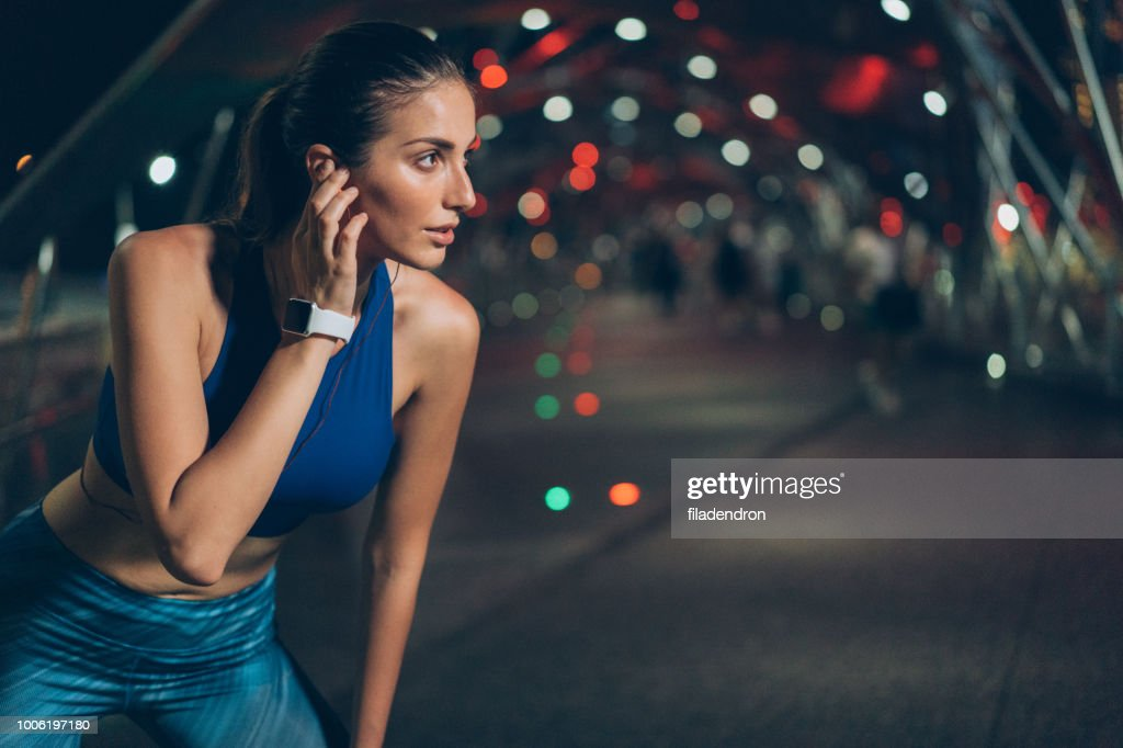 Wireless technology and sport : Stock Photo