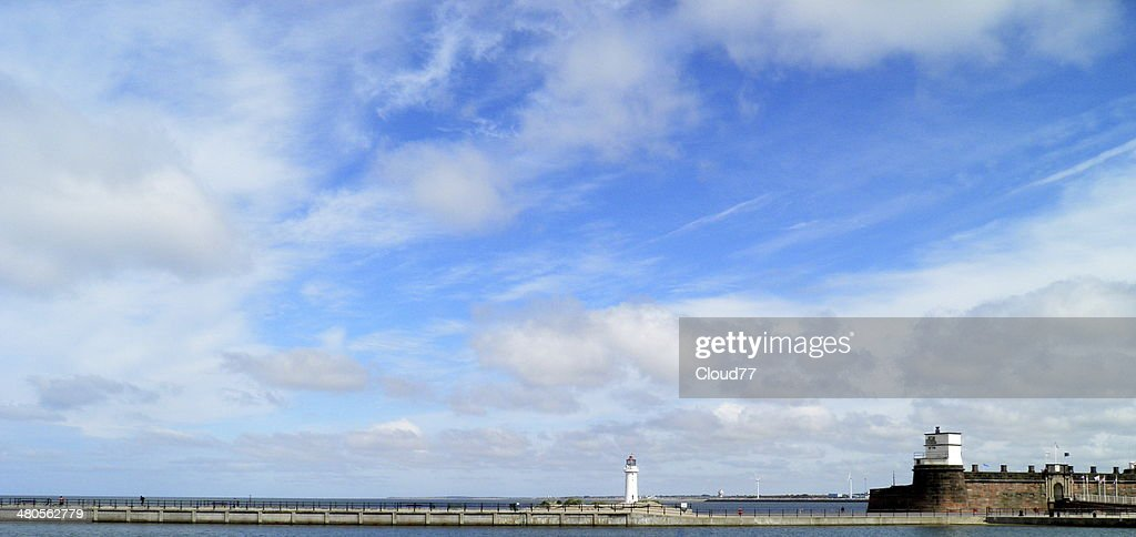 Wirral Lighthouse : Stock Photo