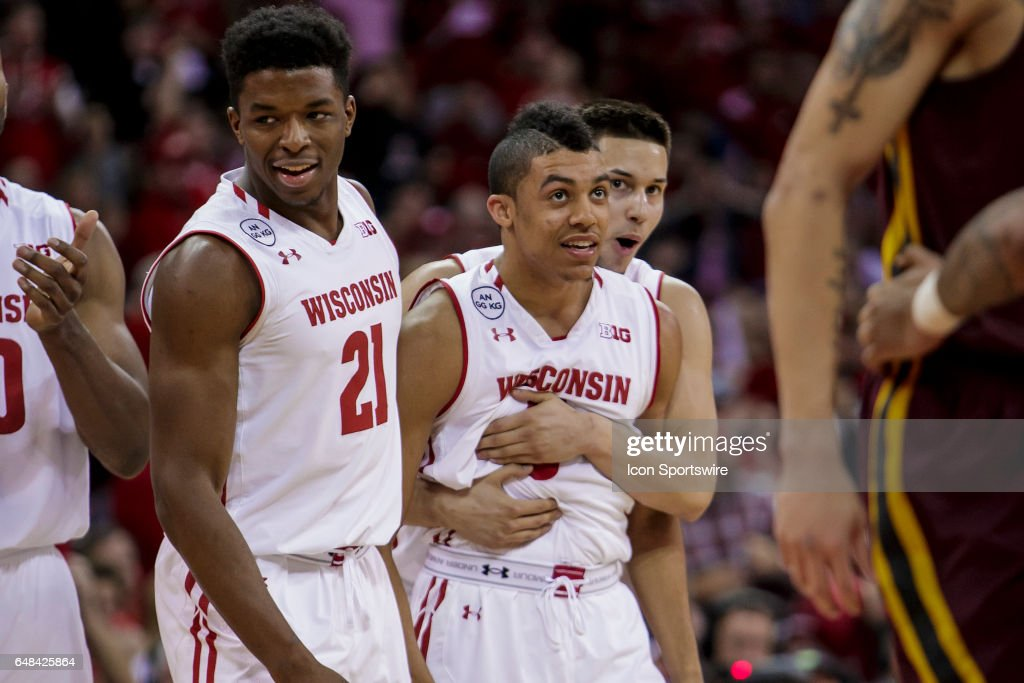 COLLEGE BASKETBALL: MAR 05 Minnesota at Wisconsin : News Photo