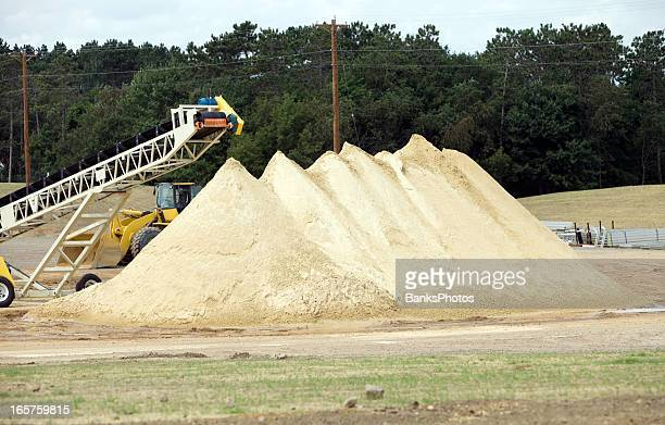 Wisconsin Frac Sand Mine Pile
