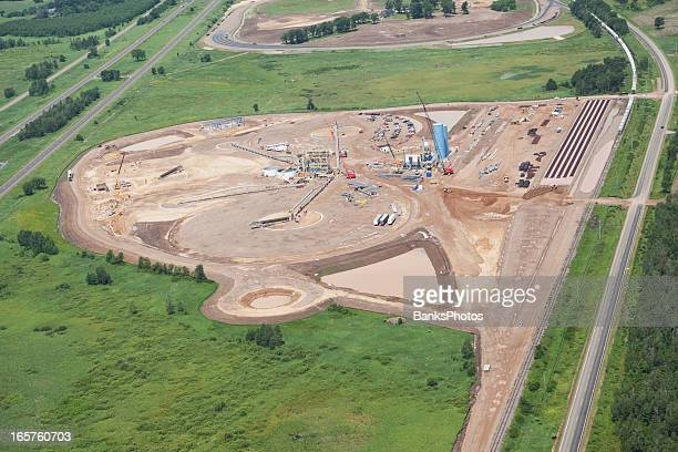 Wisconsin Frac Sand Processing Facility Construction
