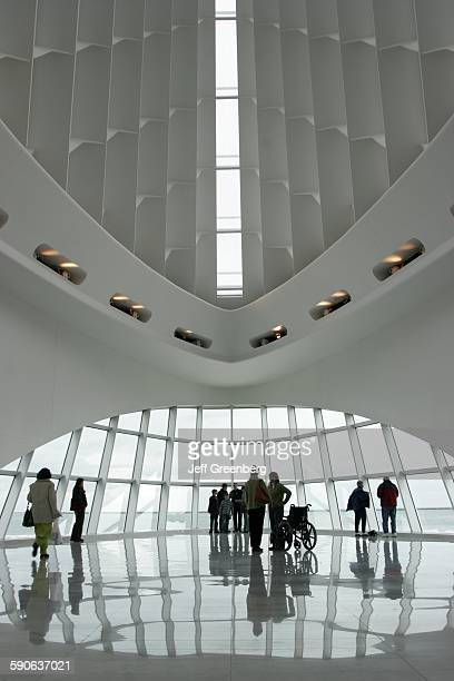 Wisconsin Milwaukee Milwaukee Art Museum Quadracci Pavilion Architecture