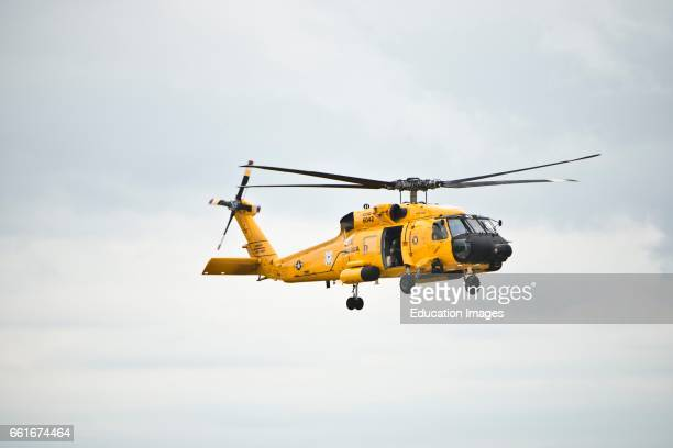 Wisconsin Oshkosh AirVenture 2016 US Coast Guard Sikorsky HH60J Jayhawk Helicopter