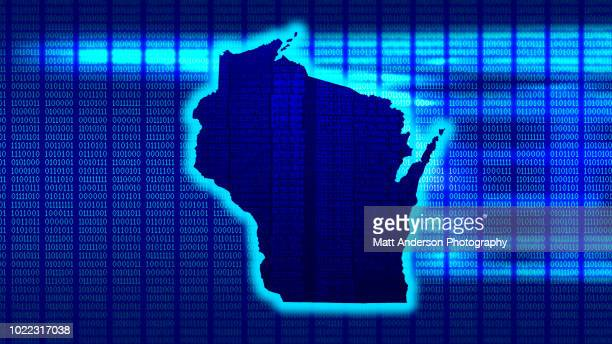 wisconsin - state 101010 - electoral college stock pictures, royalty-free photos & images