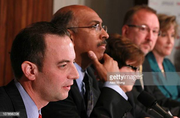 Wisconsin state party chairman Reince Priebus, incumbent Republican National Committee Chairman Michael Steele, former RNC official Maria Cino,...