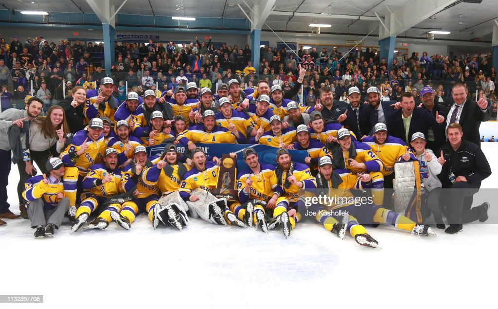 WI: 2019 NCAA Division III Men's Ice Hockey Championship