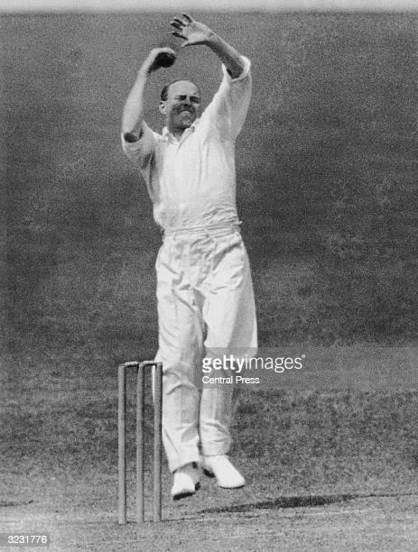 Wisden Cricketer of the Year 1935 Bill 'Tiger' O'Reilly Australia's successful spin bowler