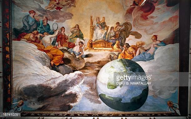 Wisdom fresco by Andrea Sacchi Palazzo Barberini Rome Italy 17th century