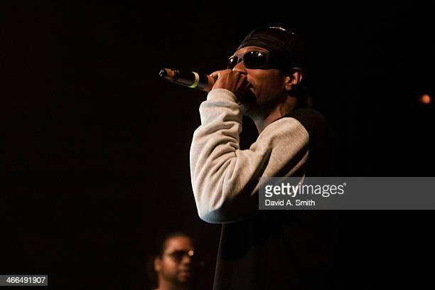 Wish Bone of Bone ThugsnHarmony performs at Iron City on February 1 2014 in Birmingham Alabama