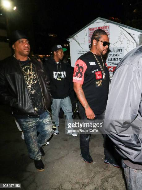 Wish Bone of music band 'Bone ThugsnHarmony' is seen on February 22 2018 in Los Angeles California